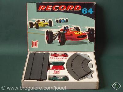 le petit mus e jouef le premier circuit routier lectrique jouef record 64. Black Bedroom Furniture Sets. Home Design Ideas